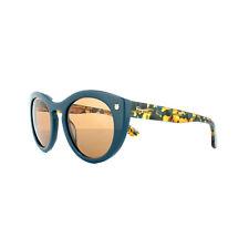 c8856636d6 Salvatore Ferragamo Sunglasses Sf773s 416 Petrol Blue Pattern Brown
