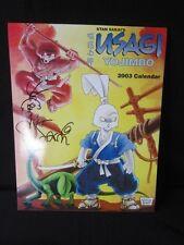 Usagi Yojimbo 2003 Calendar Signed Sketched + Mini Sketch VF/NM Condition