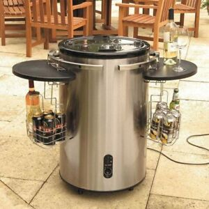 Lifestyle stainless steel electric party cooler for drinks - LFS904