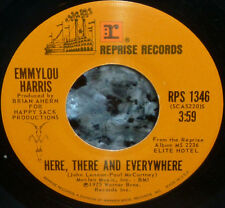 """*<* EMMYLOU SINGS BEATLES """"HERE, THERE & EVERYWHERE"""" '75 CLEAN M- 45/company slv"""