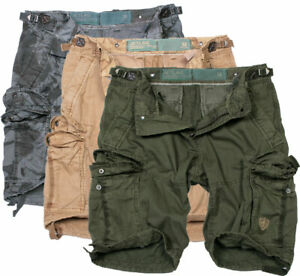Jet Lag Men's Cargo Shorts Bermuda Knee Length Summer 20-647 New