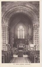 STAFFORD ( Staffordshire) : St Chad's Church interior RP-WHS