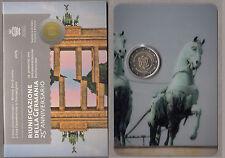 SAN MARINO € 2 Euro MURO 2015 25° Riunificazione Tedesca 25 Years German Unity