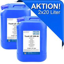 2x20l LTLD 10W40 Motoröl für LKW und Busse mit Scania LDF 3 40 Liter