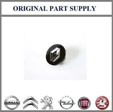 New Genuine Renault Centre Wheel Cap in Black Gloss with Chrome badge 403154214R