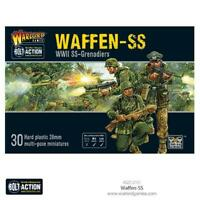 WAFFEN SS - PLASTIC - GERMAN  BOLT ACTION - WARLORD GAMES WW2 -