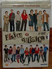 FISICA O QUIMICA PHYSICAL OR CHEMICAL 2 COMPLETE SEASON 5 DVD SEALED NEW SERIES