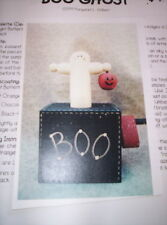 WHIMSEYDOODLES BOO GHOST HALLOWEEN PATTERN PACKET