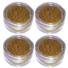 3/4 inch Brass Pipe Screens with 4 Mini Containers - Tobacco Screen 100+ pcs