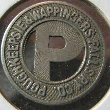 1925 Poughkeepsie, NY & Wappingers Falls Railway Co. Transit Token - New York
