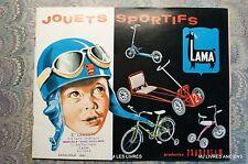 (1743JL.0) CATALOGUE JOUETS SPORTIFS LAMA PRODUCTION FRANCOLAM 1964