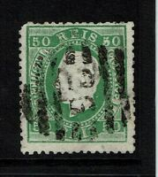 Portugal SC# 42, Used, Perf 13.5, Minor embossing tears - Lot 082217