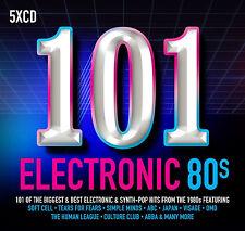 Various Artists - 101 Electronic 80s CD Set