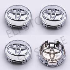 4 pcs, Toyota, Wheel Center Cap, Chrome, 57 MM, Corolla, Yaris, Prius