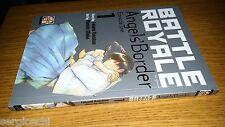 BATTLE ROYALE ANGLE'S BORDER # 1-TAKAMI KOUSHUN-OHNISHI MIOKO-GOEN- MANGA - MN46