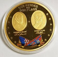Heroes and Flags of the Civil War Commemorative Coin-Proof