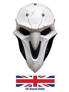 UK Seller OW Reaper Mask Helmet 1:1 Replica Cosplay Fancy Dress Halloween