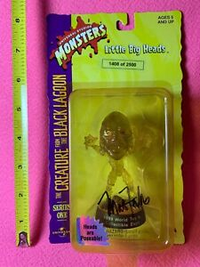 1998 Little Big Heads Creature From the Black Lagoon Variant Artist Signed #'d