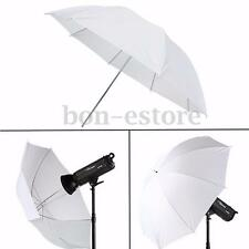 43'' Photography Video Studio Diffuser Translucent Flash Soft  Umbrella White