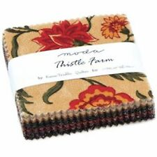 """Thistle Farm Mini 2.5"""" Charm Pack by Kansas Troubles Quilters for Moda Fabrics"""