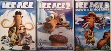 ICE AGE Parts 1,2,3 [One,Two,Three] Meltdown*Dawn of.. Animated 4 Disc DVD *EXC*