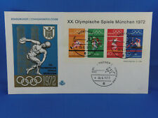 GERMANY FDC 1972 s/s OLYMPIC GAMES 1972 MUNICH   (G8/62)