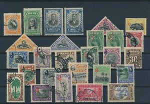 LN24865 Liberia mixed thematics nice lot of good stamps used