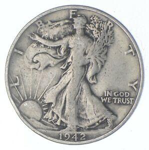 Better 1942-S - US Walking Liberty 90% Silver Half Dollar Coin Set Break *674