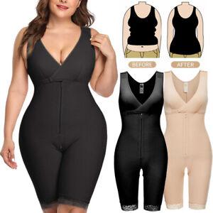 Body Shaper For Women Seamless Firm Control Shapewear Slimmer Open Bust Bodysuit