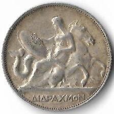 Greece 2 Drachmai 1911 King George