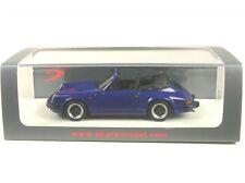 Porsche 911 3.2 cabriolet (Dark Blue) 1989