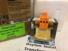NEW IN BOX DAYTON 100VA ISOLATION TRANSFORMER 4MTN9