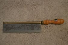 Vintage Dovetail Saw Made in France