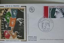 ENVELOPPE PREMIER JOUR SOIE 1975 ARPHILA PARIS