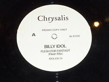 "BILLY IDOL - Flesh For Fantasy - 1984 UK Chrysalis label 2-track promotional 12"""