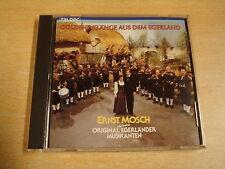 CD / ERNST MOSCH UND SEINE EGERLANDER MUSIKANTEN-GOLDENE KLANGE AUS DEM EGERLAND