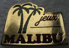 Pin's Alcool Jeux Malibu avec Palmier (Réf:2034)