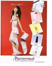 PUBLICITE ADVERTISING   2010   MAGASINS MARIONNAUD  parfumeries