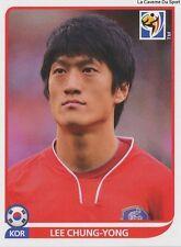 N°156 LEE CHUNG-YONG # KOREA REPUBLIC STICKER PANINI WORLD CUP SOUTH AFRICA 2010