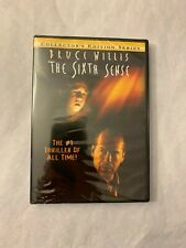 DVD The Sixth Sense Movie 1999 Widescreen Collectors Edition Series Bruce Willis