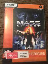PC CD-rom Mass Effect