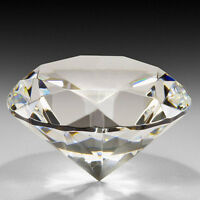 Crafts Clear Crystal Wedding Jewelry Artificial Diamond Cut Glass Paperweight