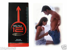 "Why Not 12""Penis Enlargement Cream Increase Blood Flow Consist Herbs Vitamins BS"