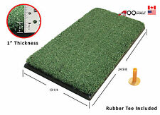 """Golf Range Practice Chipping Driving Mat Ultra thick 13 1/4 x 24 5/8"""" + 7mm tee"""