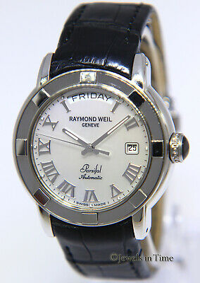 Raymond Weil Parsifal MOP Dial Mens 40mm Automatic Watch on Strap 2844