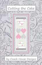 Table Runner Pattern ~ CUTTING THE CAKE ~ by Coach House Designs