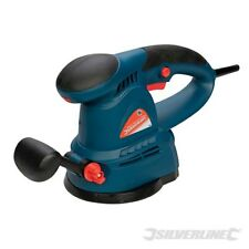 RANDOM ORBITAL SANDER 125mm 430W ELECTRIC 240V PALM DETAIL SILVERLINE 125563