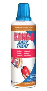 KONG EASY TREAT PEANUT BUTTER RECIPE 226GRM LONG DATED £7.99 FREE POST.