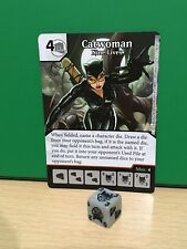 DICE MASTERS DC Justice League Rare - 136 Catwoman