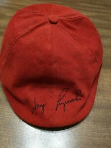 "Greg Luzinski PHILADELPHIA PHILLIES SIGNED AUTOGRAPHED FLAT CAP HAT ""MINT"""